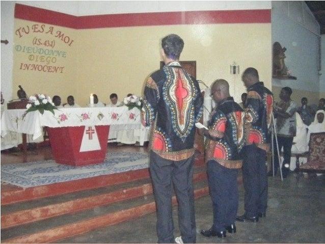 Coro infantil en la celebración del fundador de los javerianos