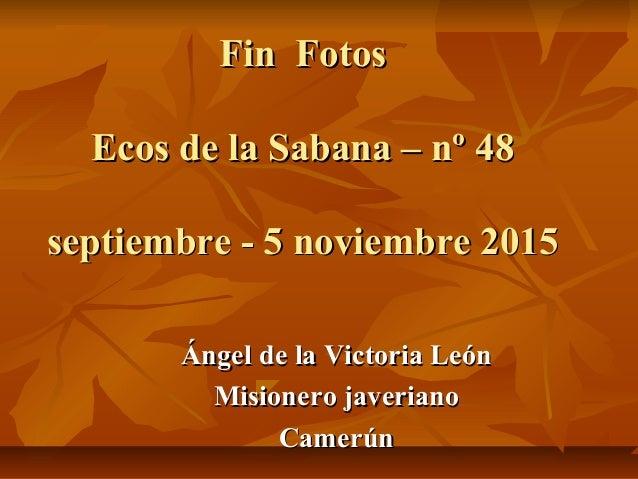 Fotos Ecos  de la Sabana - nº 48