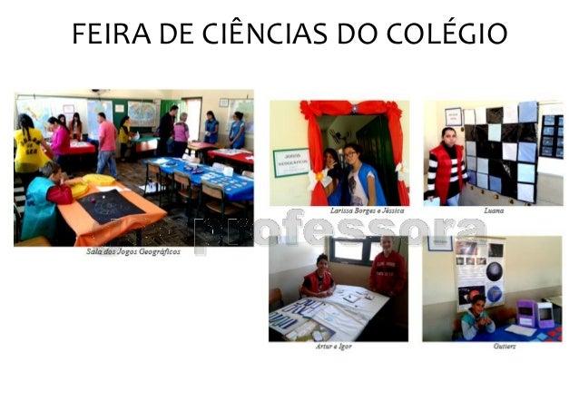 FEIRA DE CIÊNCIAS DO COLÉGIO