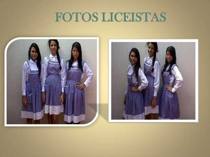 FOTOS LICEISTAS
