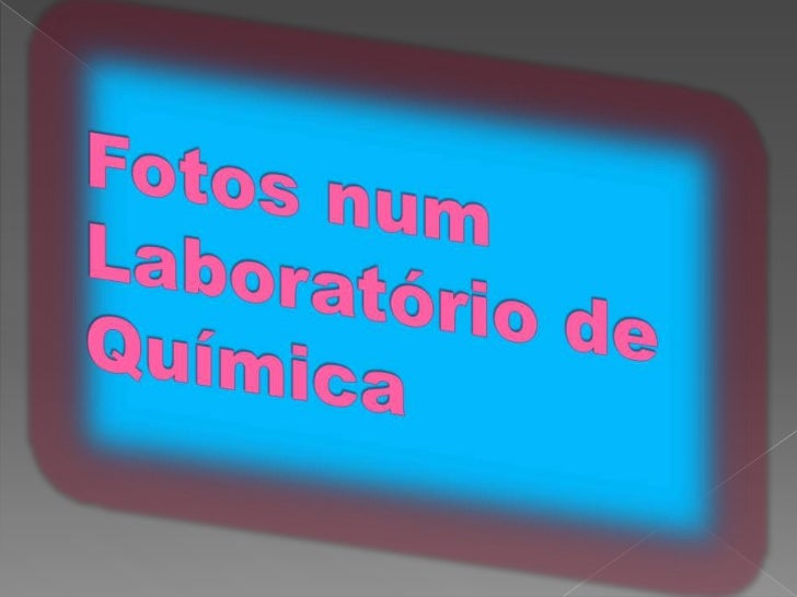 Fotos num Laboratório de Química<br />