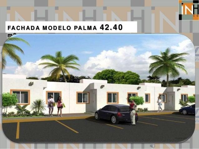 FACHADA MODELO PALMA 42.40 m2