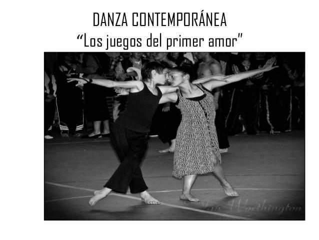 """DANZA CONTEMPORÁNEA""""Los juegos del primer amor"""""""