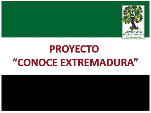 """Proyecto """"Conoce Extremadura"""" en imágenes"""