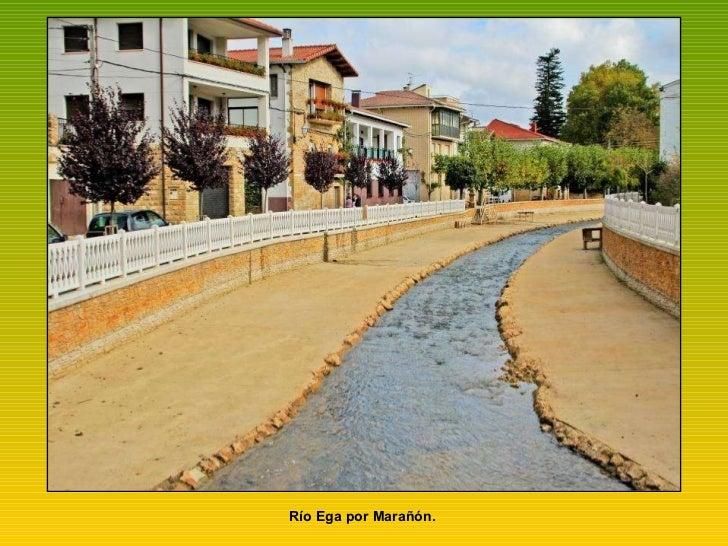 Río Ega por Marañón.