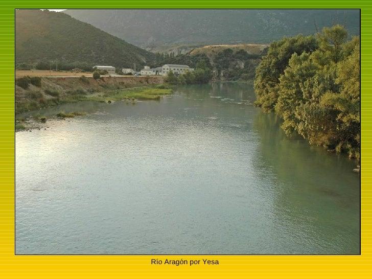 Río Aragón por Yesa