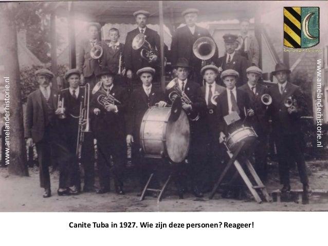 Canite Tuba in 1927. Wie zijn deze personen? Reageer! www.amelanderhistorie.nl www.amelanderhistorie.nl