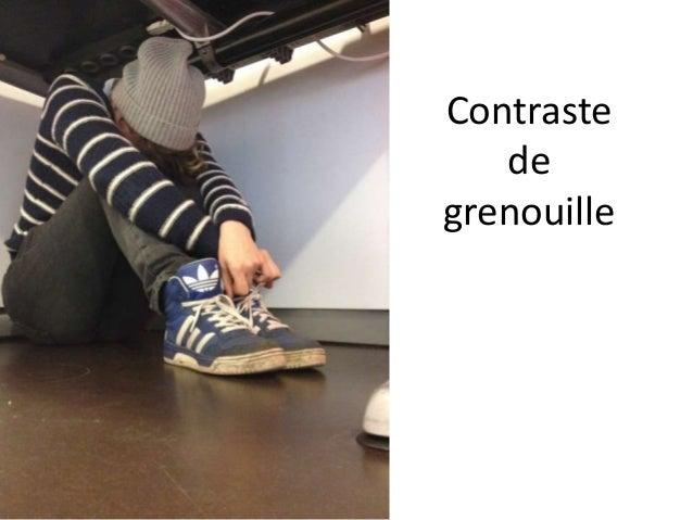 Contraste de grenouille