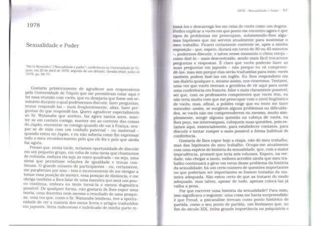 Foucault michel-sexualidade-e-poder