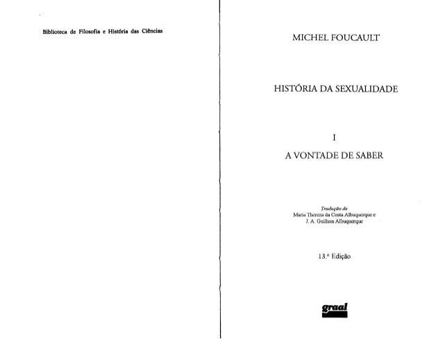 Foucault - Historia da Sexualidade