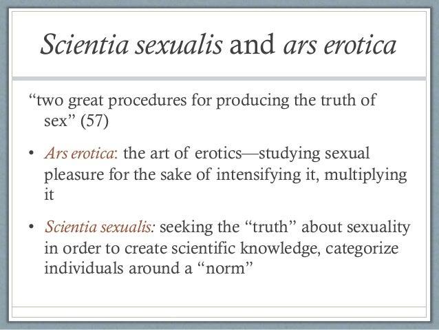 Scientia sexualis