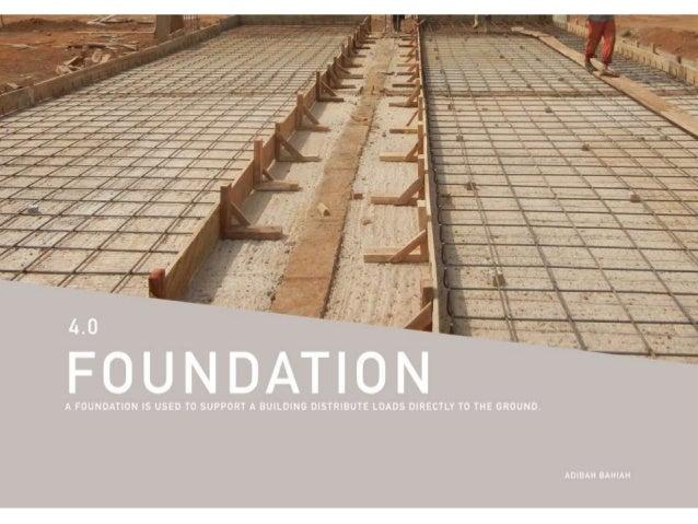 Building Construction Foundation