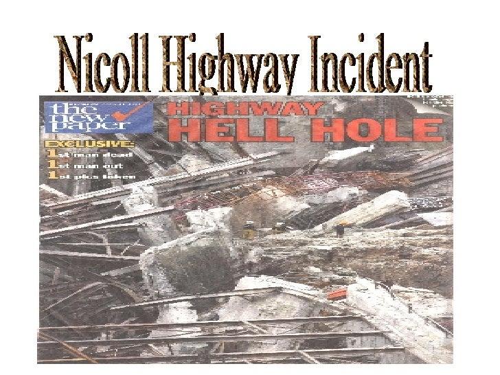 Nicoll Highway Incident