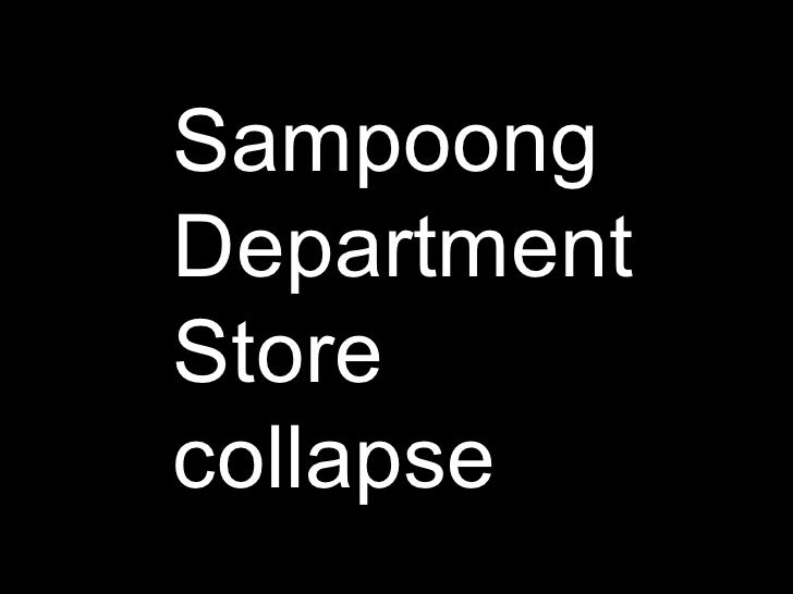 Sampoong Department Store collapse