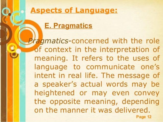 Foundation disciplines of english language arts d semantics 12 free powerpoint templates toneelgroepblik Choice Image