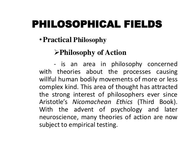 Foundation Of Education Philosophical Fields Theoretical