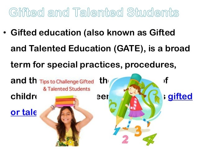 an introduction to the analysis of americas gifted talented programs Education courses at ashford university  analysis, development, and  students with mild to moderate disabilities as well as gifted and talented learners.