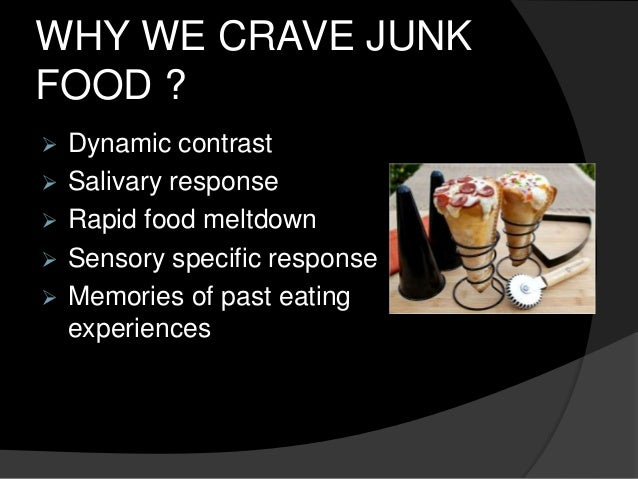 how to avoid junk food addiction