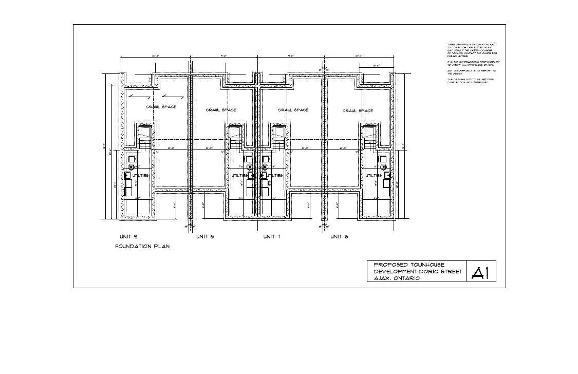 Foundation plan a1 june 2 10