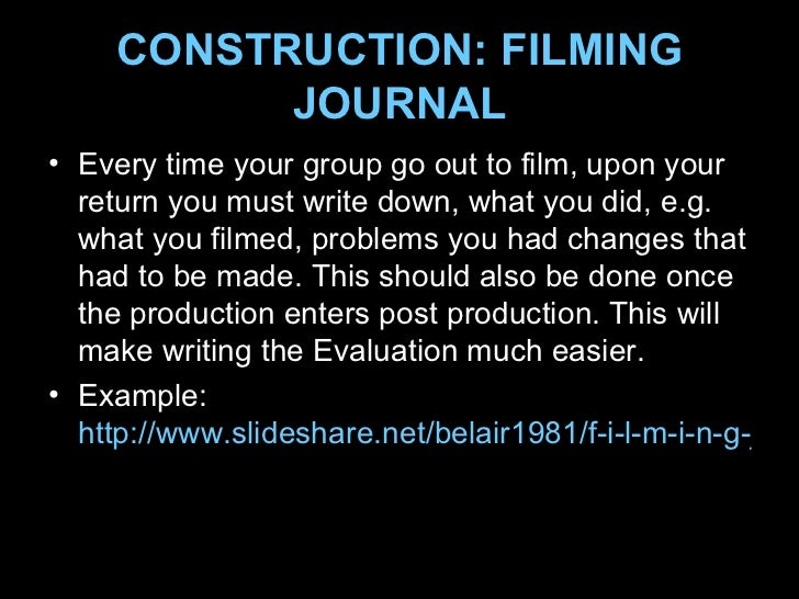 Foundation Portfolio Guide: Video Production