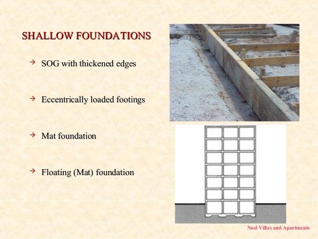 Foundations  noel villas and apartments Builders in Kerala