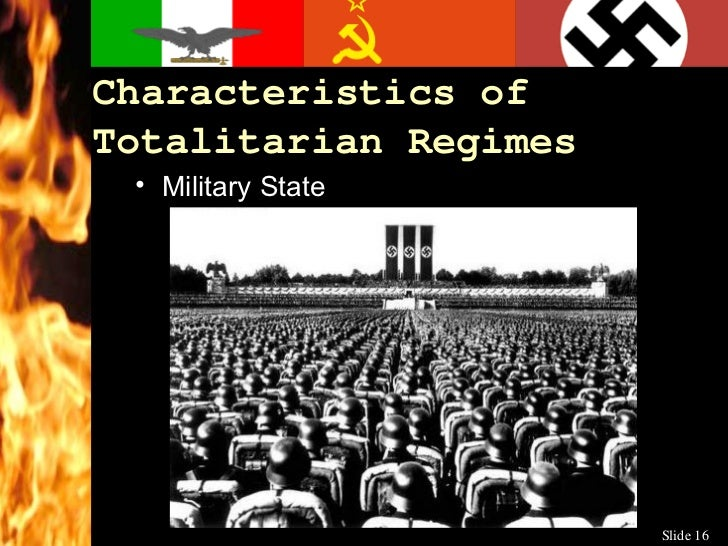 totalitarian government Totalitarianism is then a political ideology for which a totalitarian government is  the agency for realizing its ends thus, totalitarianism characterizes such.