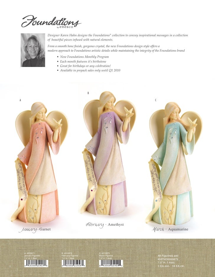 Designer Karen Hahn designs the Foundations® collection to convey inspirational messages in a collection                  ...