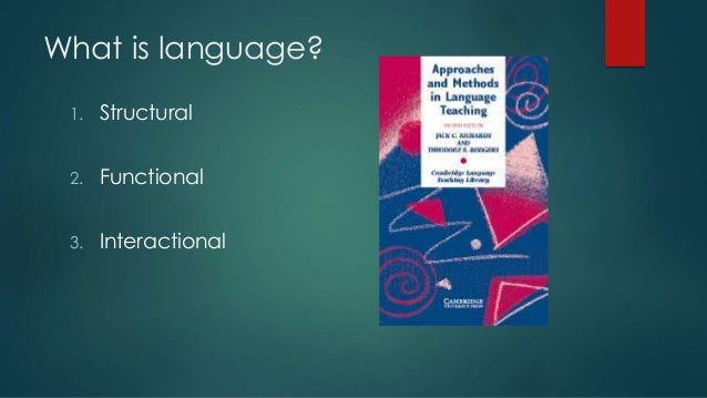 sla lg teaching methods approaches Debate and developments around the methods of language teaching and learning have been com/vivianc/sla an outline of language teaching approaches.