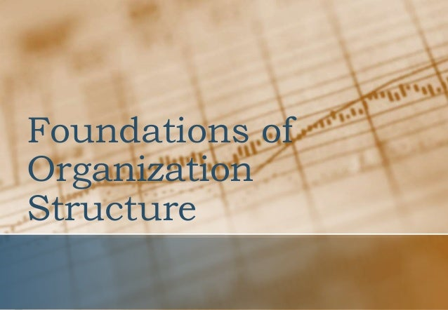 foundations of organization structure Full-text paper (pdf): foundations of organizational structures in multiagent  systems.