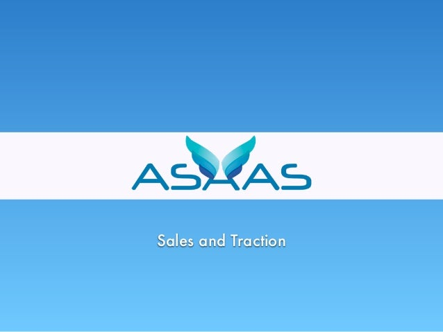 Sales and Traction