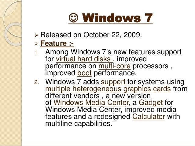 Microsoft windows operating system