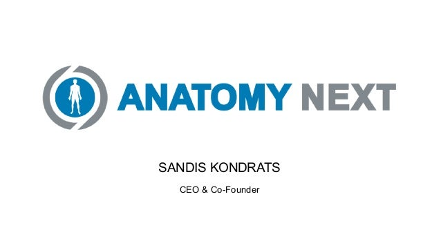 SANDIS KONDRATS CEO & Co-Founder