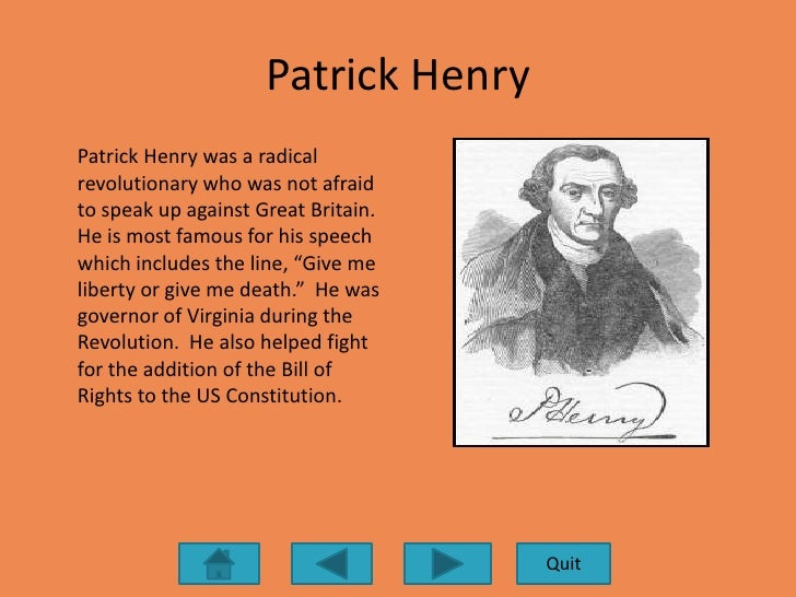 patrick henry college essays In patrick henry's speech to the virginia convention patrick henry essay by papernerd contributor, college, undergraduate, september 2001 download word file, 3 pages, 00 downloaded 21 times keywords god, violence.