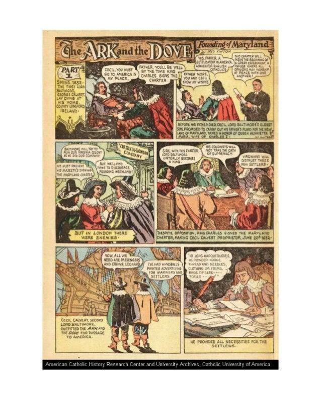 Founding of Maryland, US History