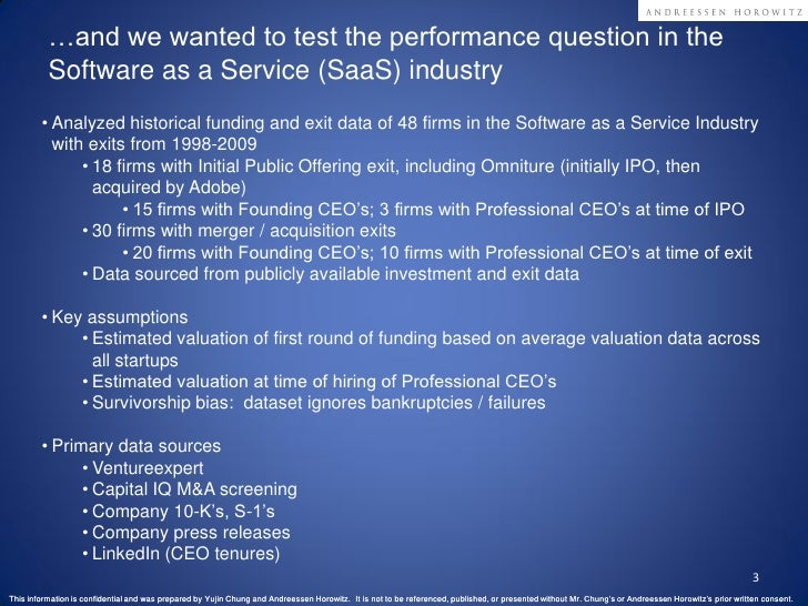 Founding vs Professional CEO Performance Analysis in SaaS Slide 3