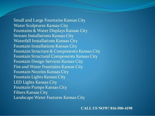 Fountain Design Services Kansas City 816-500-4198 Slide 2
