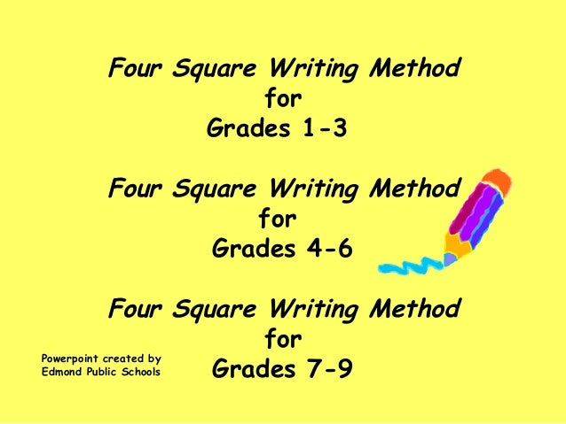 Four squareintroduction dewey – Four Square Writing Worksheets