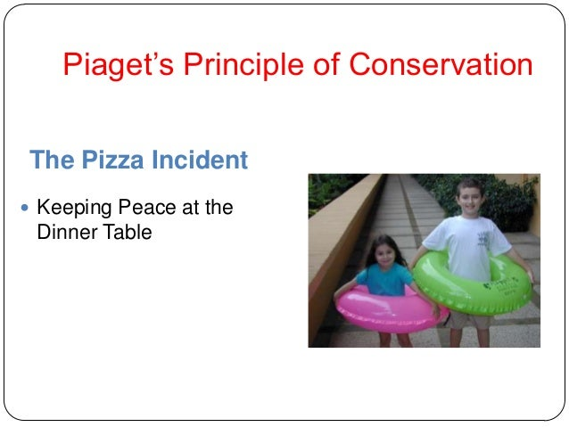 """Piaget""""s Principle of Conservation The Pizza Incident  Keeping Peace at the Dinner Table"""