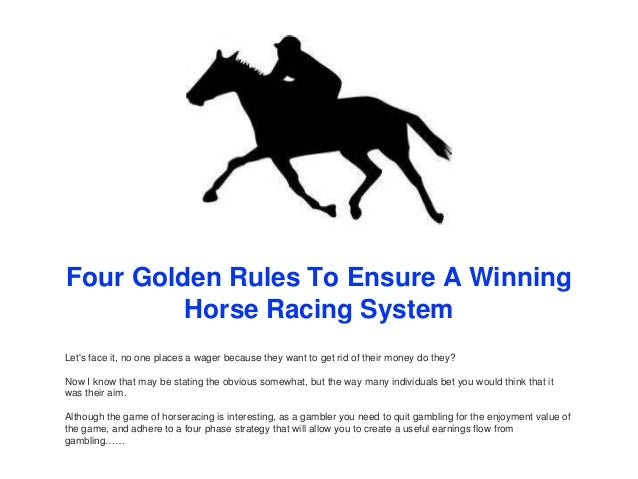 Rules on horse racing betting strategies app to bet on kentucky derby