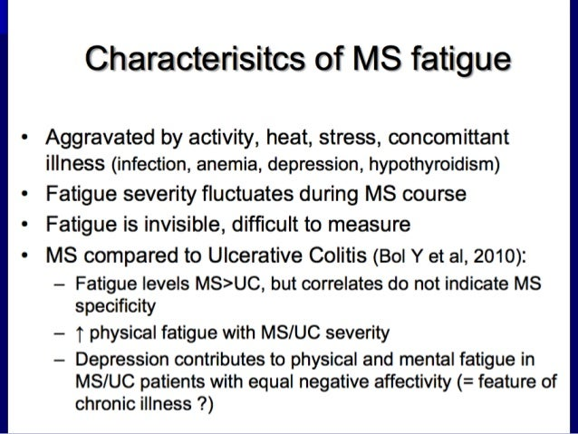 My MS Blessing: Fatigue: A Daily Struggle