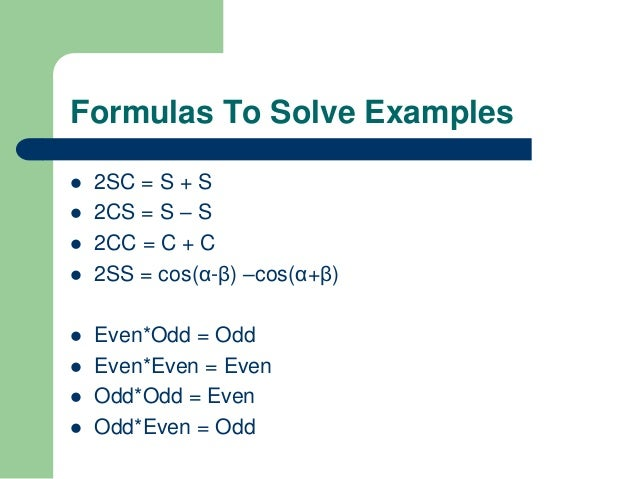 Fourier Series Types