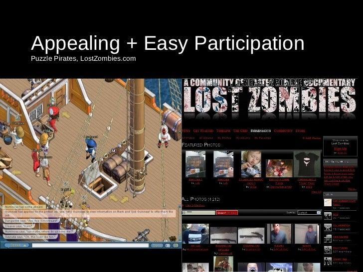 Appealing + Easy Participation  Puzzle Pirates, LostZombies.com