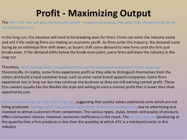 four market structures Four market structures in this market structure it producers can sell identical or near identical goods as long as they are considered substitutes 3.