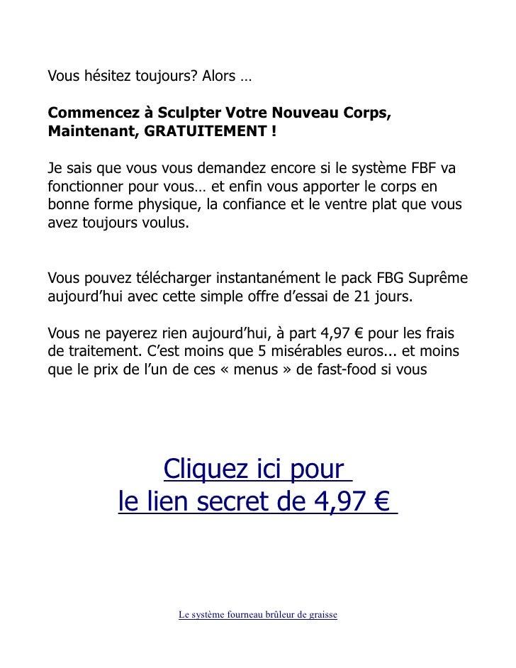 DE TÉLÉCHARGER GRATUIT GRAISSE BRULEUR FOURNEAU