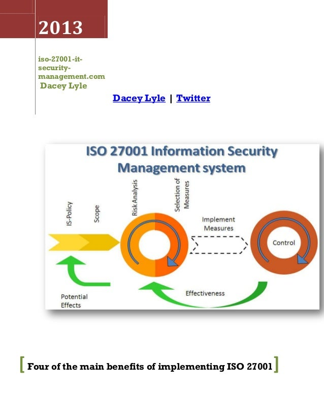 Four of the main benefits of implementing iso 27001 for Iso 27001 templates free download