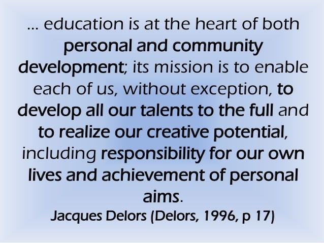 The 4 Pillars of Education Slide 2