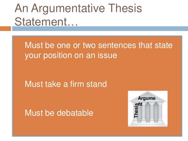 constructing an argumentative thesis Magoosh praxis blog everything you need to know about the praxis  constructing the argument  a 6-point argumentative essay displays a number of important.