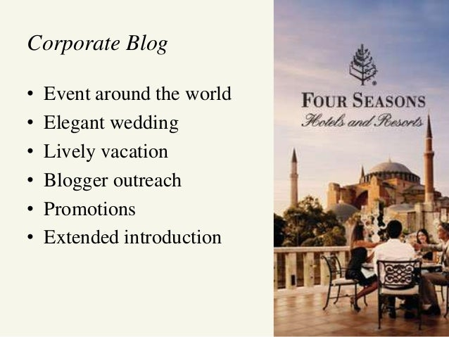 four seasons marketing plan Luxury hotel chain four seasons has unveiled a new website that cost an  he  said the new website is in part a plan to move more business.