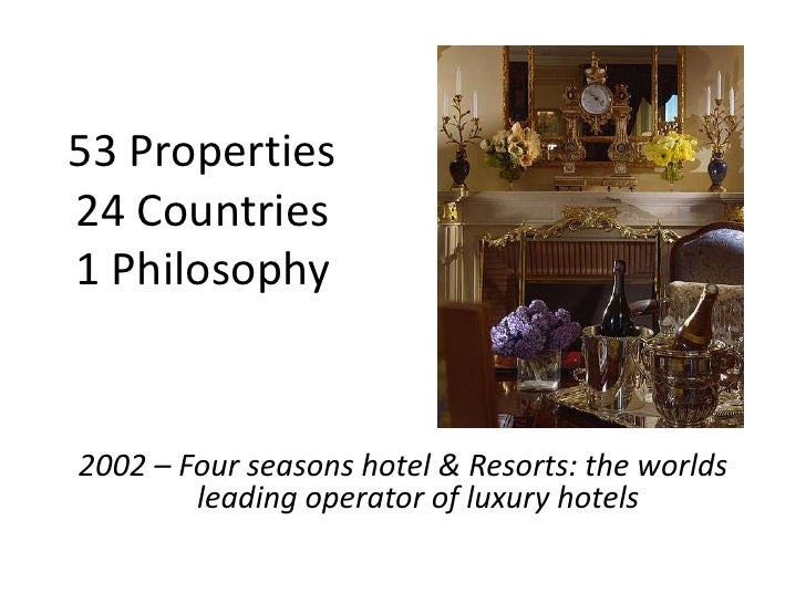 """case study four seasons goes to paris The four seasons hotel and resort case study analysis case studies  the  very first problem facing the four seasons hotel is the sense of expanding and  moving to paris another major  """"four seasons goes to paris"""" the academy of ."""