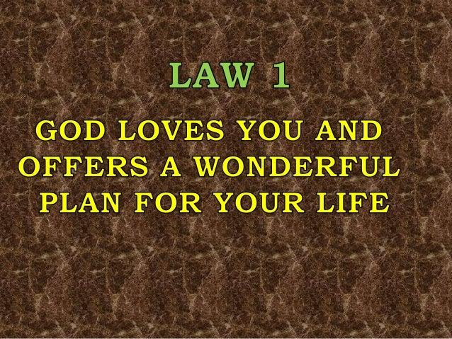 photo about Four Spiritual Laws Printable identify 4 non secular legislation